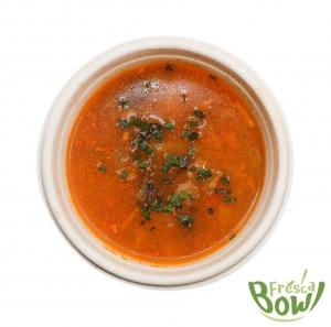 Beef Barley Vegetable Soup - Fresca Bowl