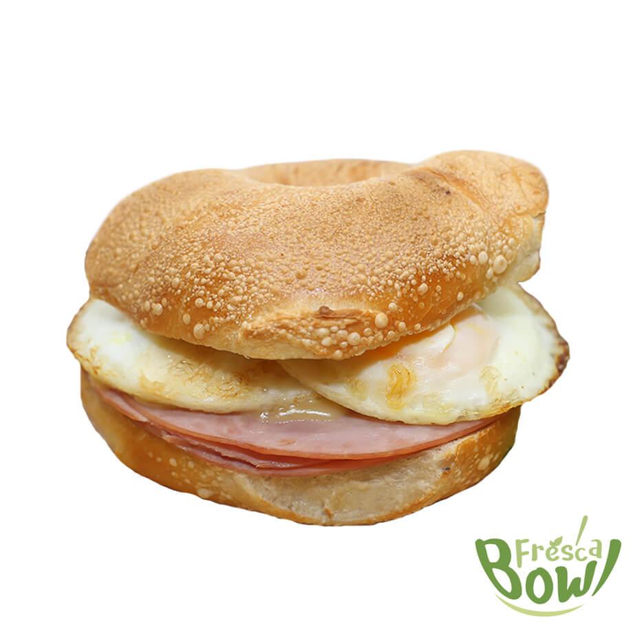 Ham Gouda Sandwich - Fresca Bowl