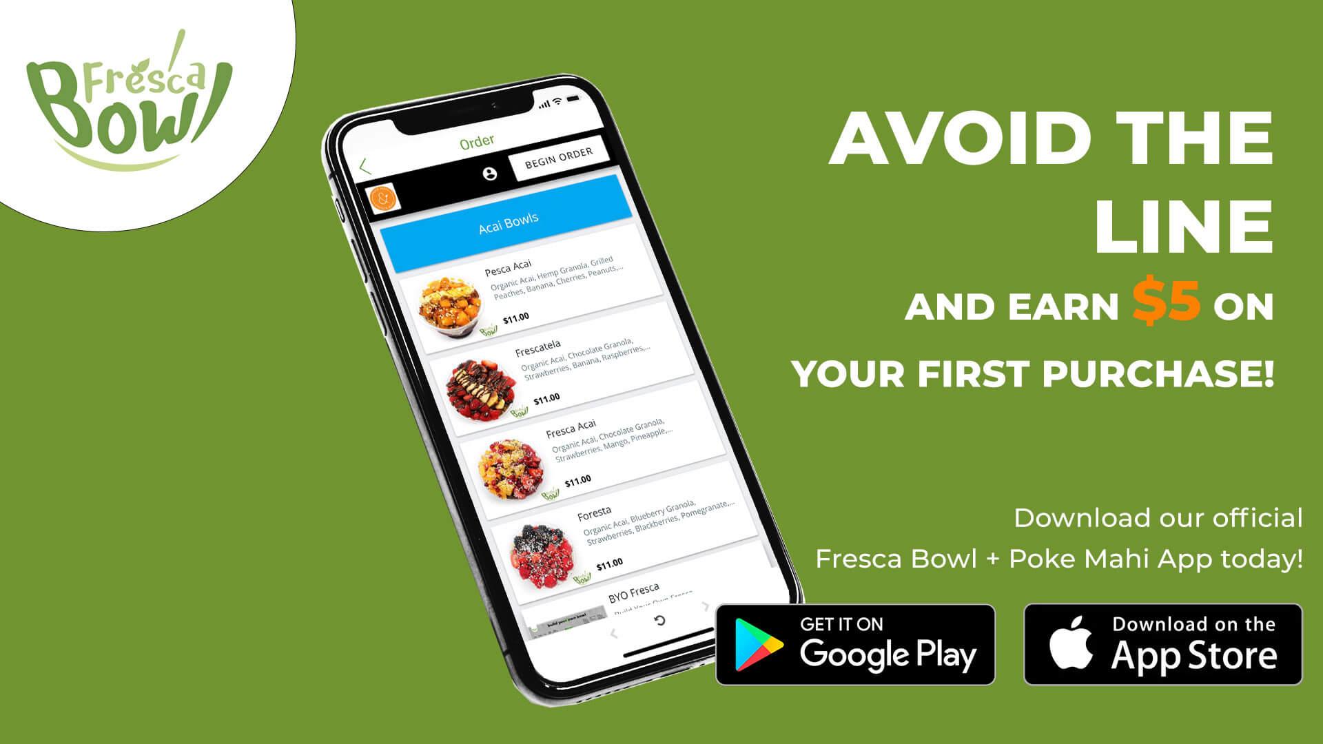 fresca poke app